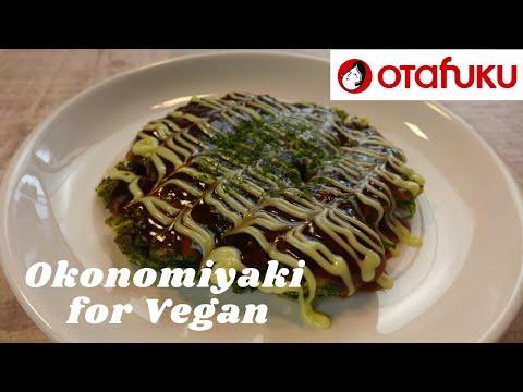 How to cook Okonomiyaki for Vegan!
