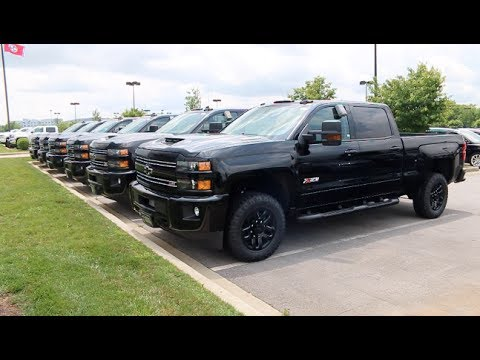 Large Selection Of 2017 Chevy Silverado Hd Midnight Editions At Wilson County Motors Lebanon Tn