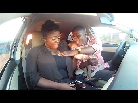 Tracey Boakye On Celebrity Ride With Zionfelix