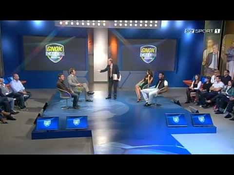 Galliani cazzia Alessandro Alciato di Sky - Gnok Calcio Show - 04/10/2009