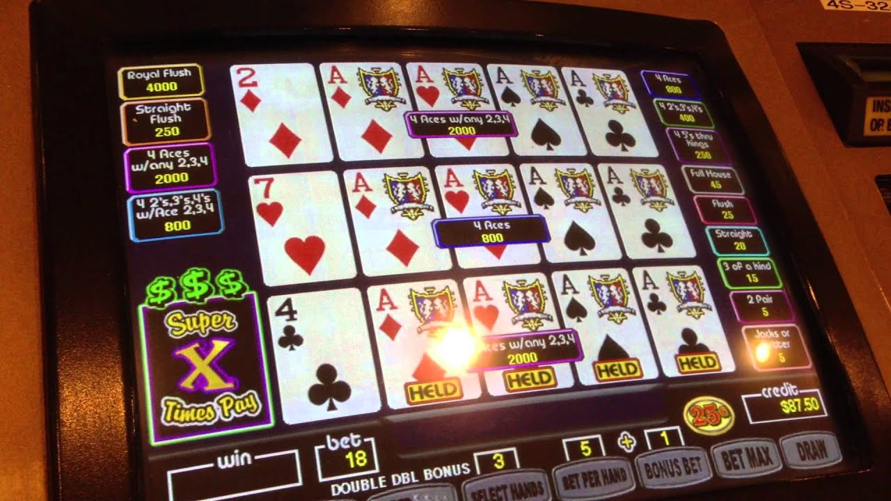 Free Double Double Video Poker