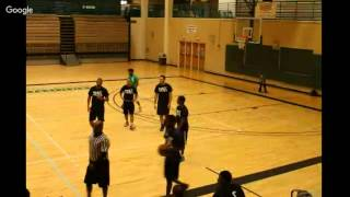 Valencia College Osceola Campus Basketball League Championship Green vs Black