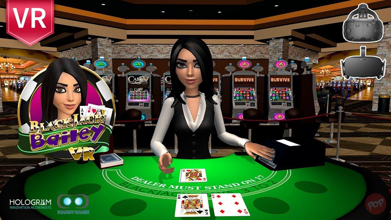 Blackjack Bailey Enjoy Blackjack 21 Card Game In Vr 3d Experience Htc Vive And Oculus Rift Youtube