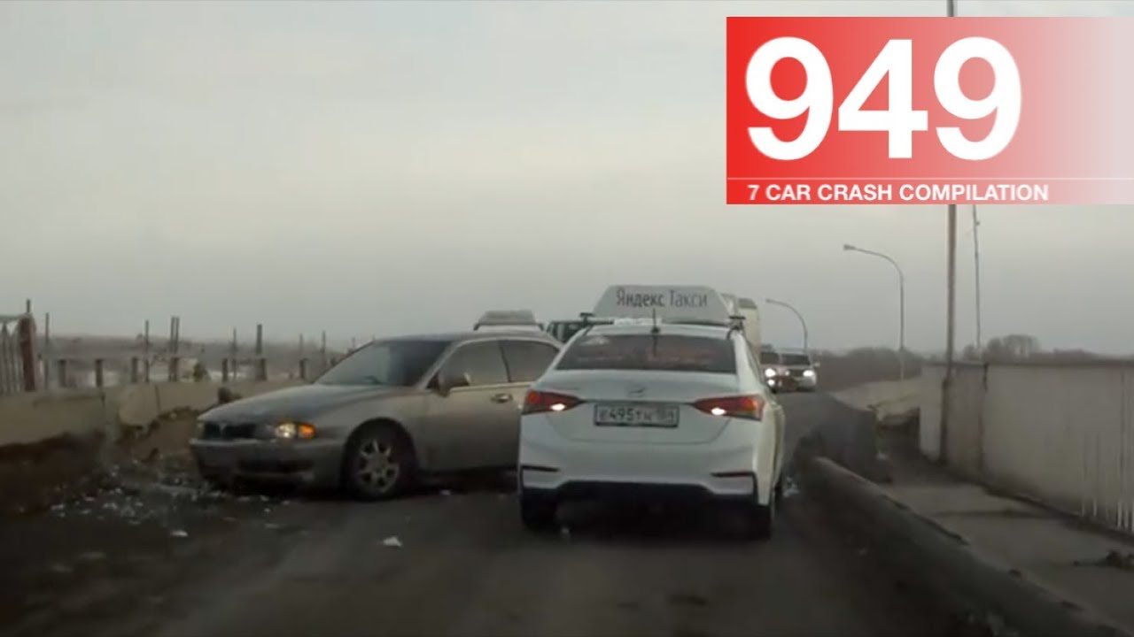 Car Crash Compilation 949 – January 2018