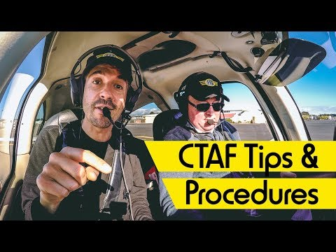CTAF Procedures at Uncontrolled Airports