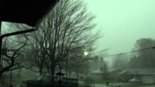 Tornado Warning/Thunderstorm 3-18-12