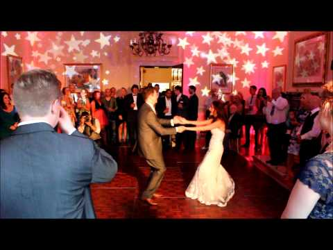 Cheshire Wedding DJs present Les & Nicky Soul & Funk Wedding at Oakley Hall (July 2014)