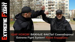 УДАР НОЖОМ! Важные ФАКТЫ! САМООБОРОНА! Extreme Fight System! Юрий Кормушин