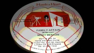 Mikey Merican - Family Affair