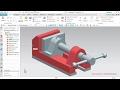 NX Siemens Bench Vice Morsa Completa