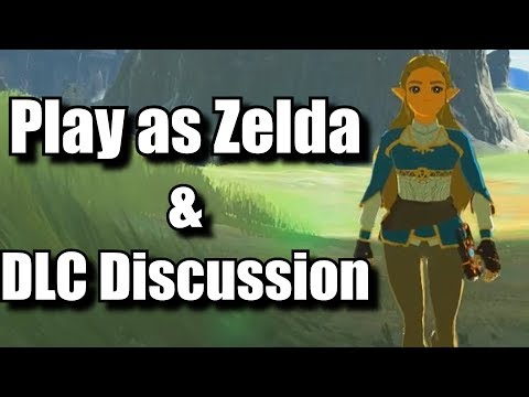 Play As Zelda in Breath of the Wild Fan Mod & DLC Discussion