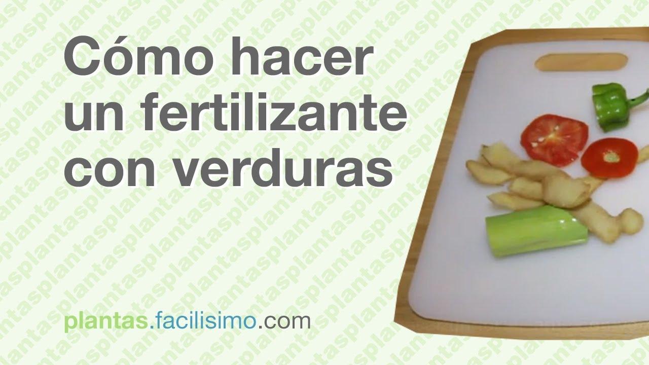 C mo hacer un fertilizante con verduras - Como hacer verduras salteadas ...