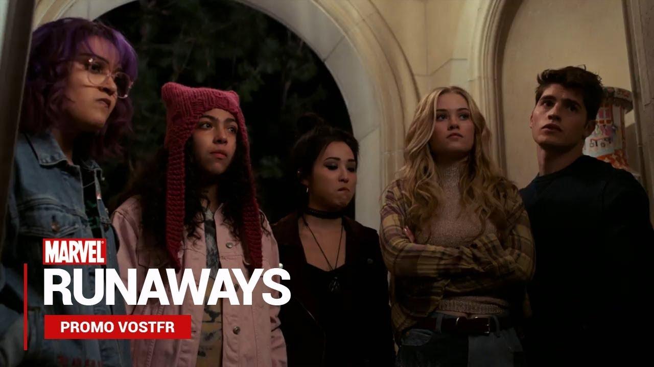 Bande annonce Marvel's Runaways