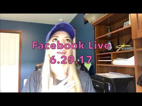 Facebook Live 6-29-17: Dining Reservation & Room Finder, Dessert Parties