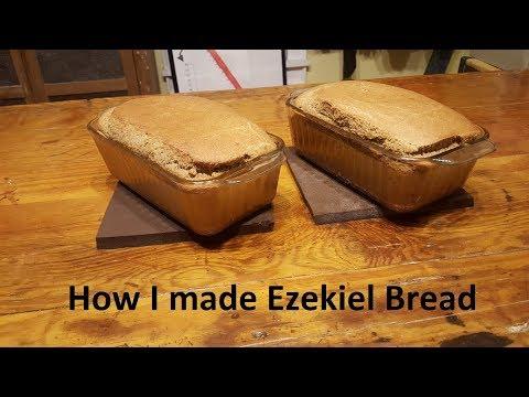 How I made Ezekiel Bread!