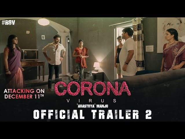 Coronavirus Official Trailer 2 | Ram Gopal Varma | Agasthya Manju | Latest Movie Trailers2020 | #RGV