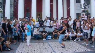 Break dance и Hip-Hop в Одессе. Девушки.