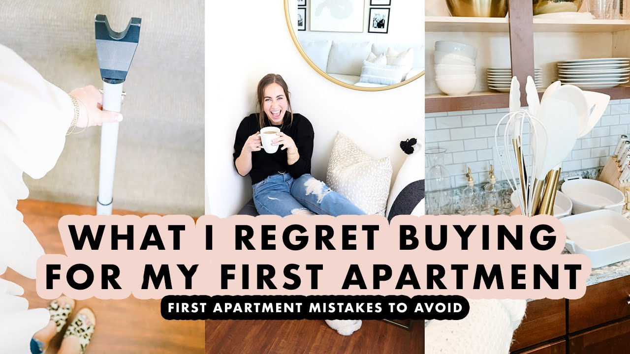 Download What I Regret Buying For My First Apartment