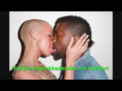 Kanye West Disses Amber Rose & She Reminds Him She Could SNITCH on Him.