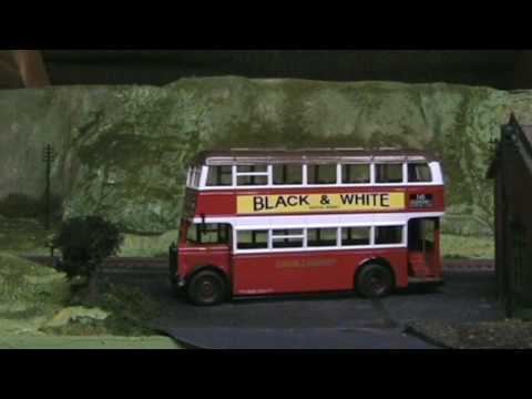 MODEL BUSES AND TRAINS