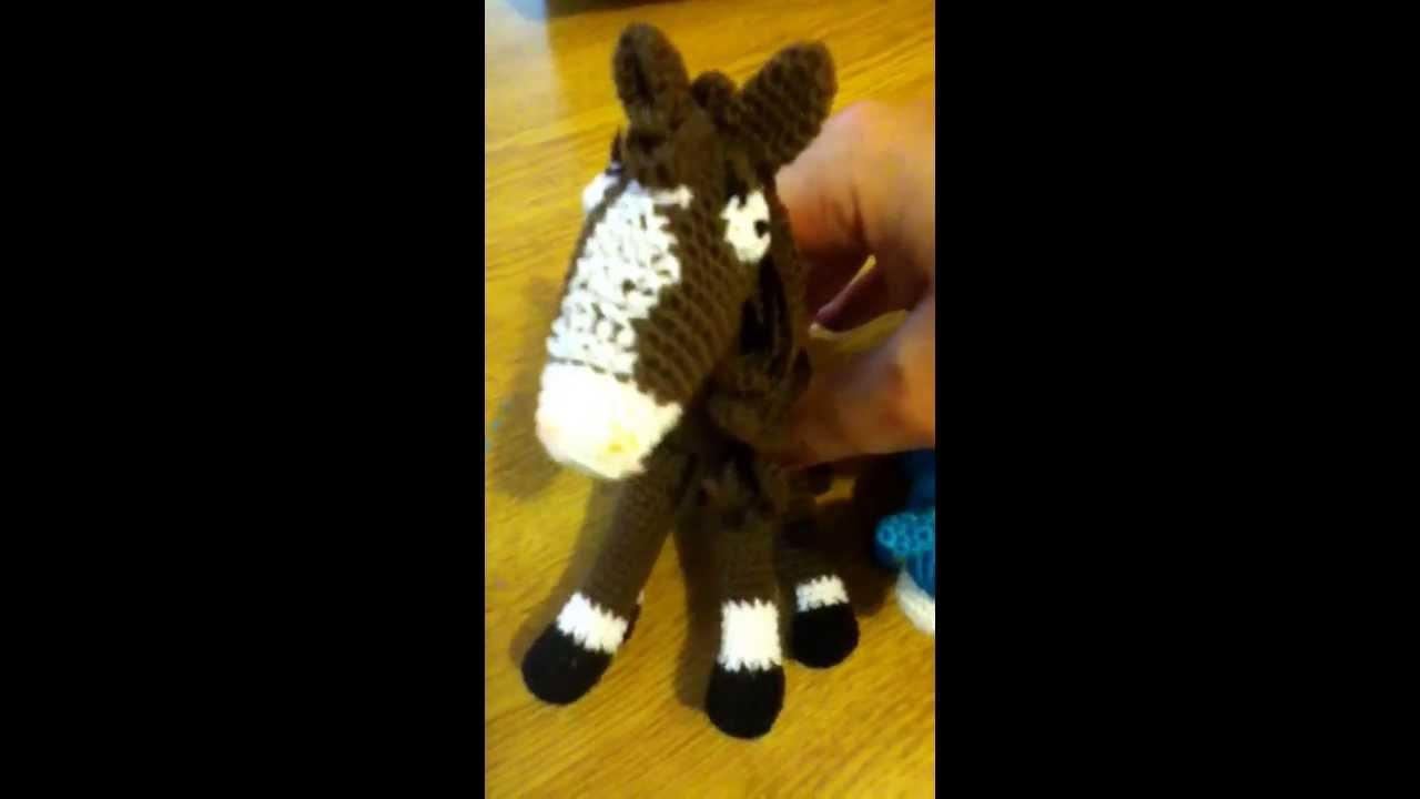 Amigurumis Caballitos A Crochet : Caballitos amigurumis youtube