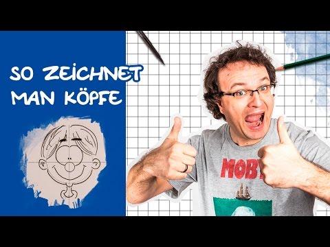 Comics zeichnen mit Tobi Wagner – KÖPFE (neue Version)
