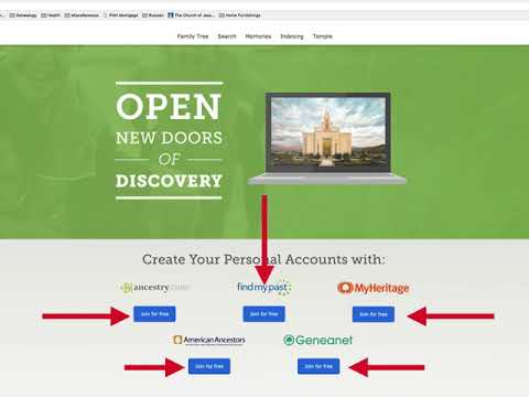 FamilySearch Account Settings and Partners by Rayanne Melick