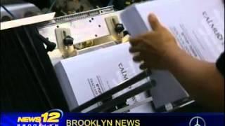 News12 Brooklyn - The Siyum Hashas and the new Artscroll Talmud APP