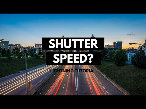 📷 What is Shutter Speed & What is it for? Photography Lightning Tutorial thumbnail