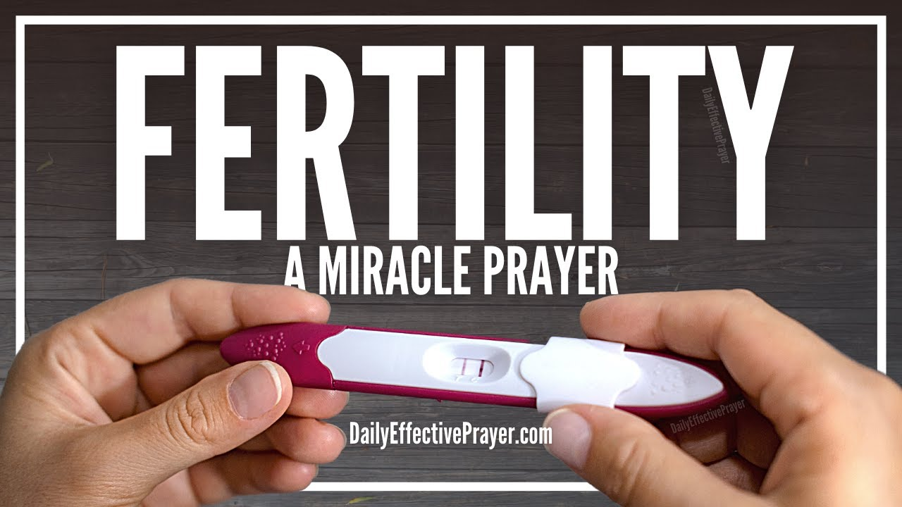 When a prayer is said for infertility