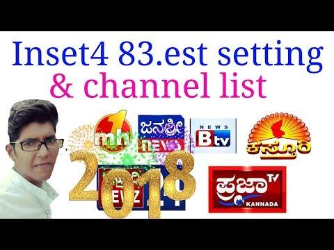 Inset4 83. Est Setting & channel list