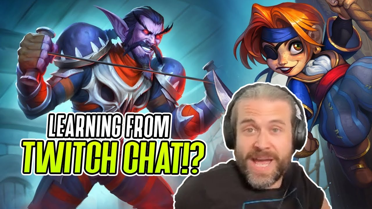 (Hearthstone) Learning from Twitch Chat?!