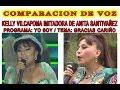YO SOY ANITA SANTIVAÑEZ COMPARACION DE VOZ KELLY VILCAPOMA CON LA ORIGINAL