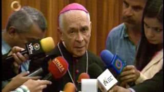 Monseñor Diego Padrón: Templos no serán utilizados para el plebiscito convocado por la AN