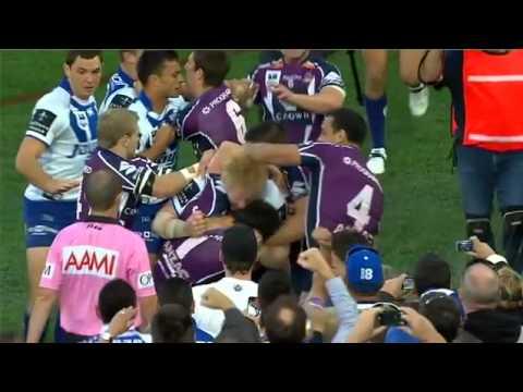 NRL Grand Final 2012-Bulldogs vs Melbourne Storm ( Match highlights) 30/9/2012