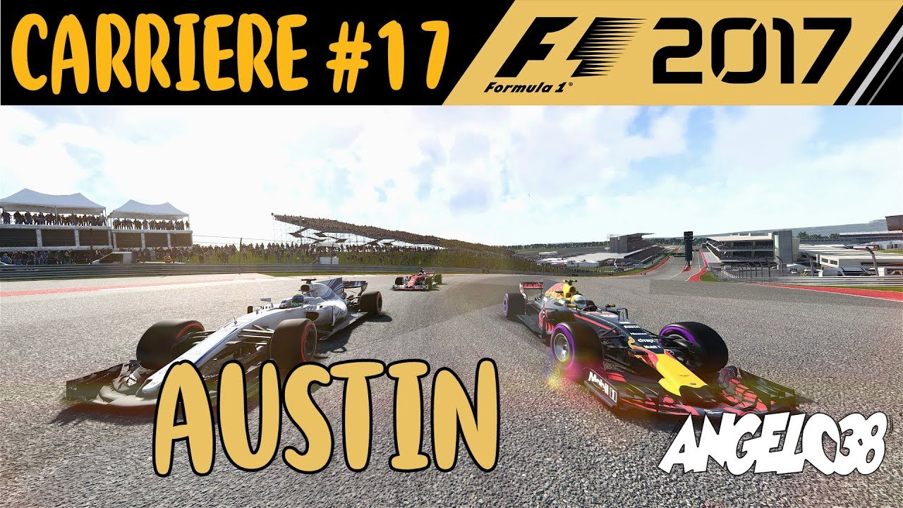 f1 2017 carriere solo 17 austin youtube. Black Bedroom Furniture Sets. Home Design Ideas