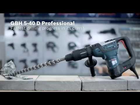 Видео обзор: BOSCH GBH 5-40 D