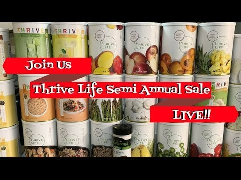 Online Thrive Event ~ Guests: Linda's Pantry ~ Noreen's Kitchen Table Talk