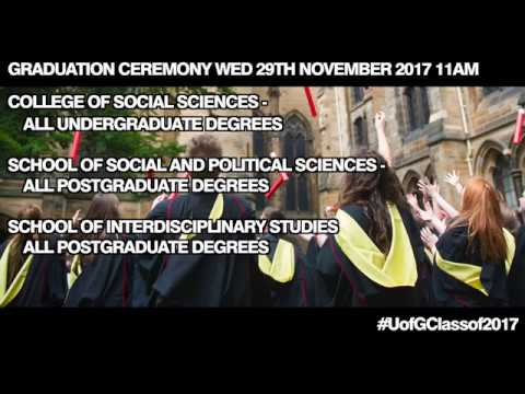 Winter Graduations - College of Social Sciences Wednesday 29th 11am