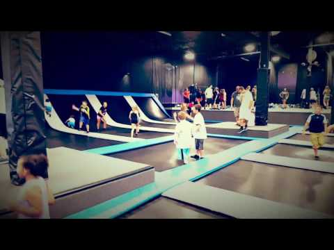 Elevate Trampoline park peoria,Il 7-29-17 1st time here