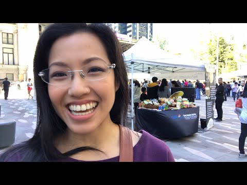 🔴  LIVE Tour of the Thai Festival Vancouver!! - Hot Thai Kitchen