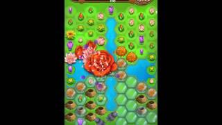 Blossom Blast Saga Level 210 New No Boosters