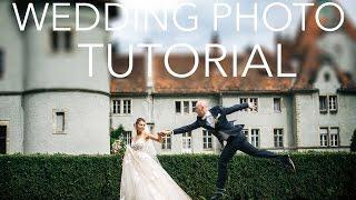 Как фотографировать свадьбы. Урок VlOG #5 - Tips and tricks for great wedding portraits