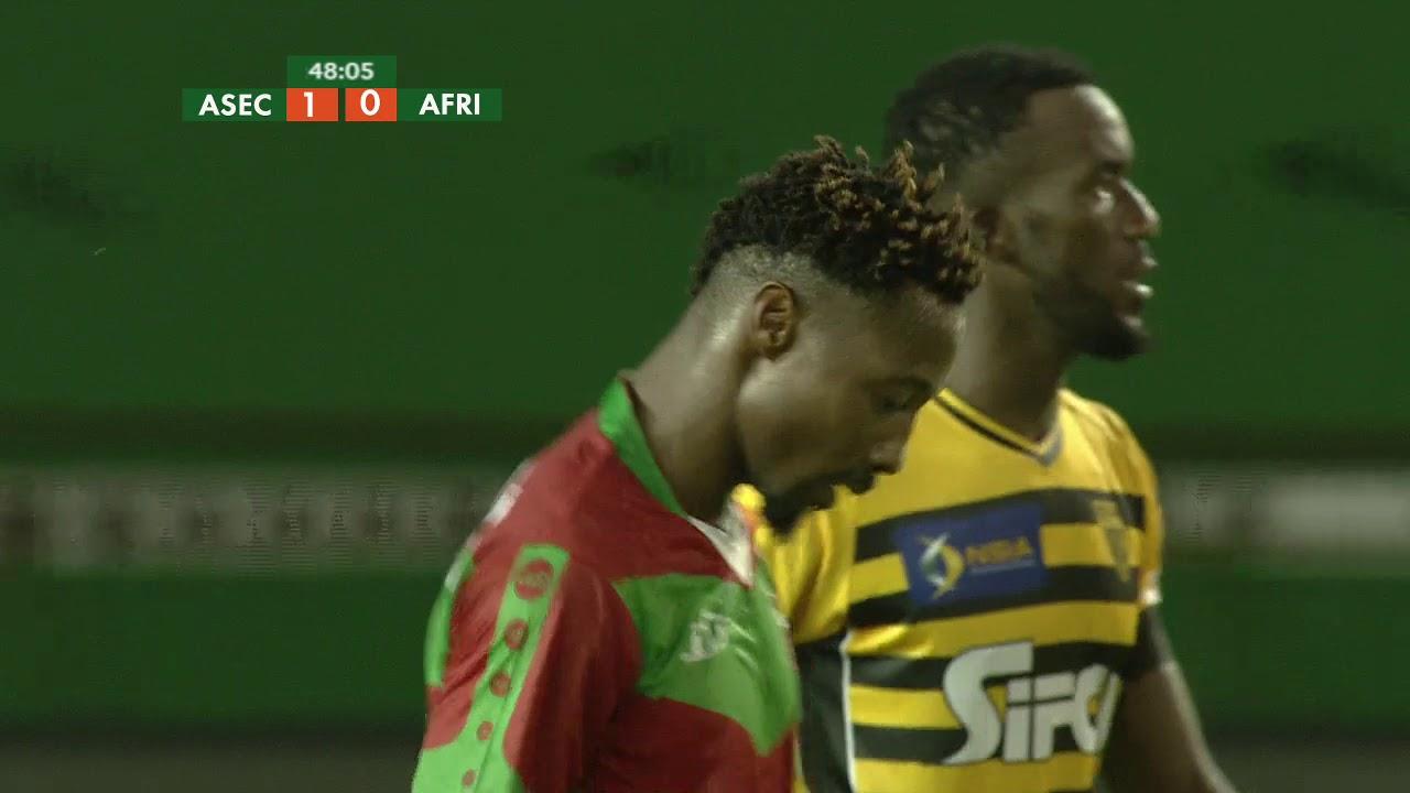 Super Coupe FHB 2017 ASEC Mimosas - Africa Sports 2ème mi-temps