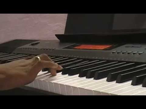 thodu vaanam song from anegan movie on piano/keyboard