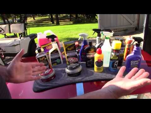 """Top """"RETAIL"""" Products For Auto Detailing - In One Video!"""