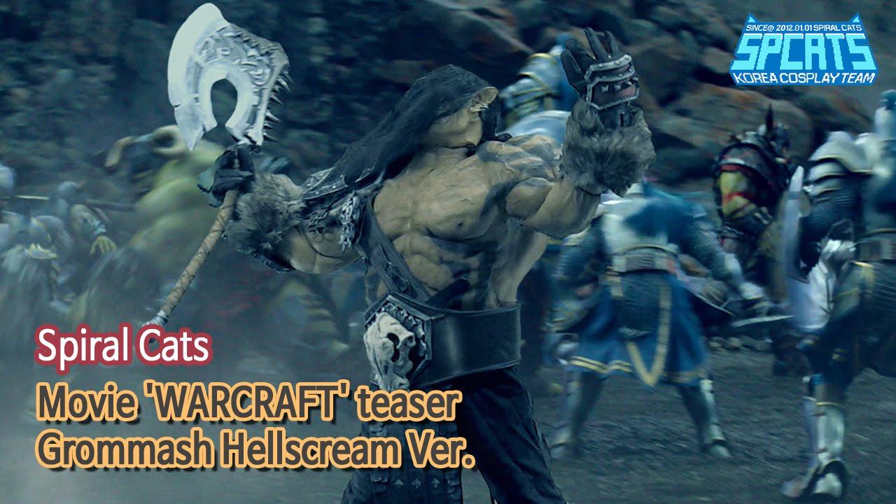 warcraft movie grommash