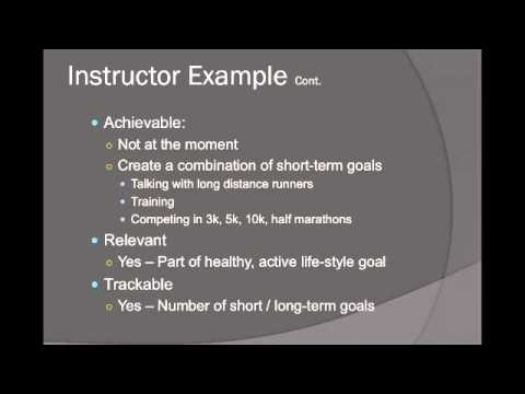 SMART Goal Setting Presentation