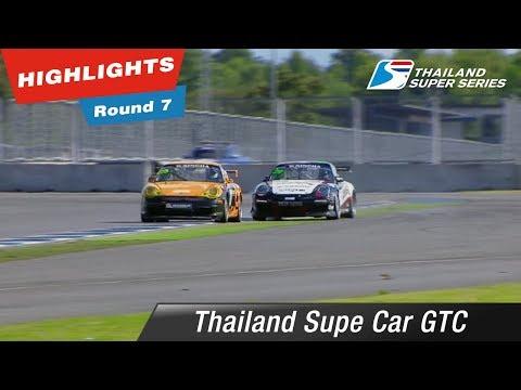 Highlights Thailand Supe Car GTC Round 7 @Chang International Circuit