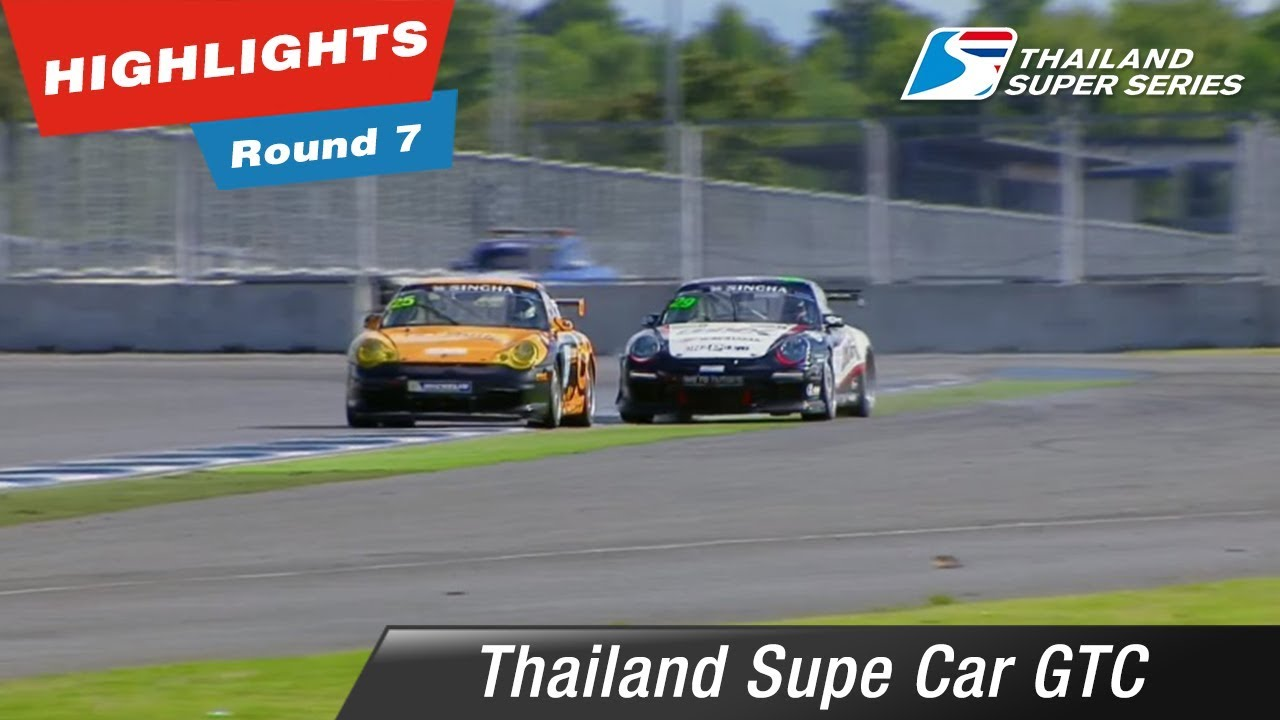 Highlights Thailand Supe Car GTC Round 7 @Chang International Circuit